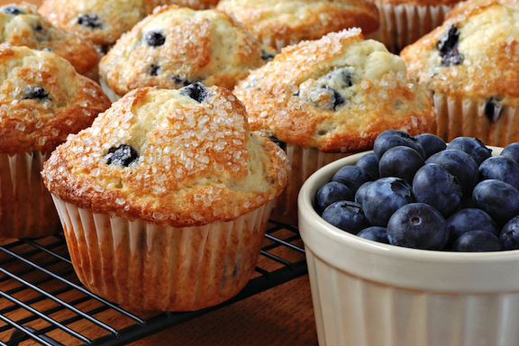 """... muff it!"""" This Blueberry Muffin recipe is a most requested muffin"""