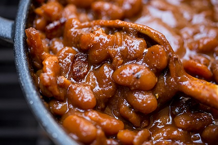 BBQ Baked Beans Steal The Show! Recipe from Real Restaurant Recipes