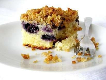 Blueberry Coffee Cake Recipe from Real Restaurant Recipes