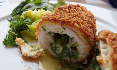 Chicken Kiev Recipe from Real Restaurant Recipes