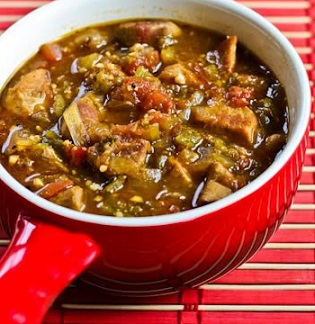 Green Chile Beef Stew Recipe from Real Restaurant Recipes