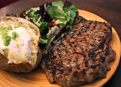 Grilled Rib Eye Steak Recipe from Real Restaurant Recipes
