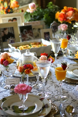 Mothers day recipes from real restaurant recipes for Table 52 mother s day brunch