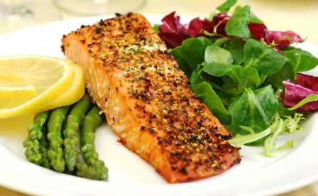 mustard crusted salmon Healthy Diet Meal Plan For Weight Loss