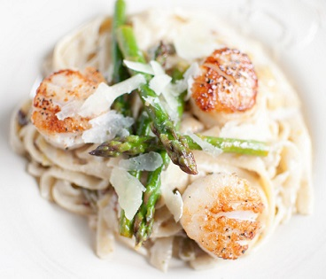 Pasta Recipe Asparagus And Scallops