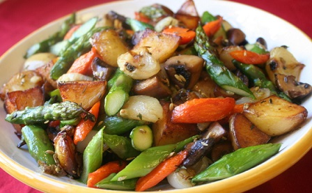 Roasted Vegetable Recipe From Real Restaurant Recipes