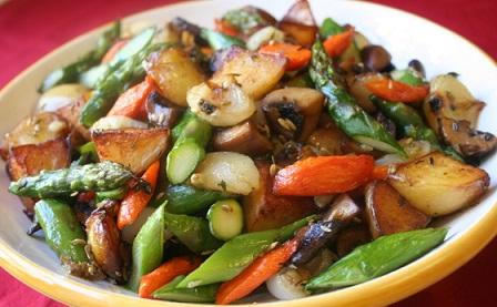 Vegetable Medley Restaurant Menu