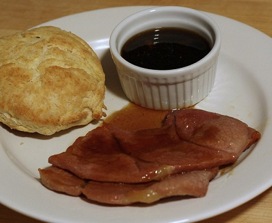 how to cook country ham and red eye gravy